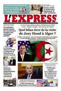 L'express quotidien du 28/07/2021
