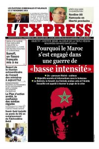 L'express quotidien du 30/08/2021