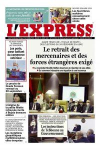 L'express quotidien du 31/08/2021