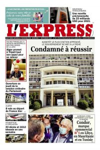 L'express quotidien du 01/09/2021