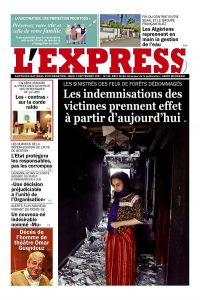 L'express quotidien du 02/09/2021