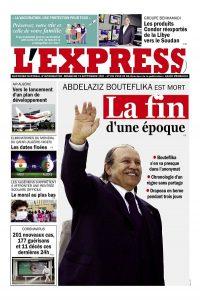 L'express quotidien du 12/09/2021