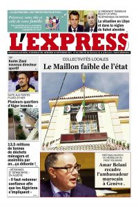 L'express quotidien du 21/09/2021