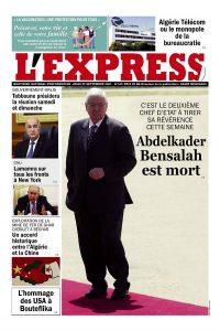 L'express quotidien du 23/09/2021