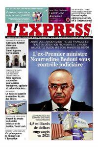 L'express quotidien du 27/09/2021