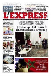 L'express quotidien du 28/09/2021