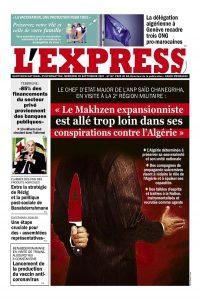 L'express quotidien du 29/09/2021