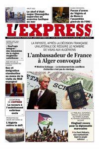 L'express quotidien du 30/09/2021