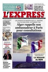L'express quotidien du 03/10/2021
