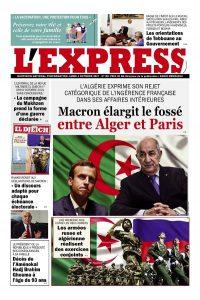 L'express quotidien du 04/10/2021