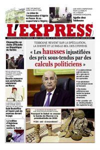 L'express quotidien du 11/10/2021