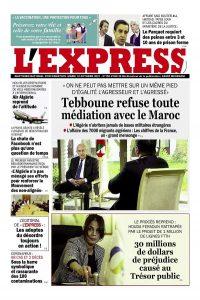 L'express quotidien du 12/10/2021