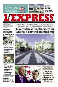 L'express quotidien du 20/10/2021