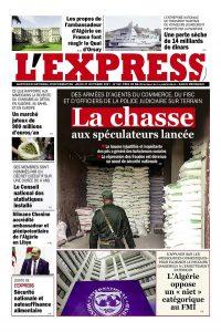 L'express quotidien du 21/10/2021